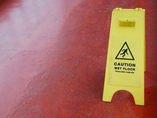 wet-floor-sign slip and fall. Key Factors That Can Affect Personal Injury Settlement Amounts in Pueblo, Centennial