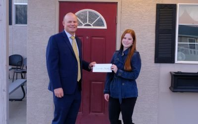 Donation to Sarah's Home